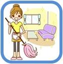 掃除、部屋の片付け、呉市で活躍 女性スタッフだけの便利屋ワンズ