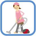 定期清掃も承っております 広島県呉市女性スタッフだけの便利屋ワンズ