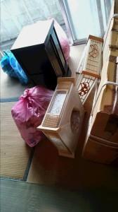 遺品整理 生前整理 不用品回収 実家の片づけ 女性スタッフ便利屋ワンズ 広島県呉市